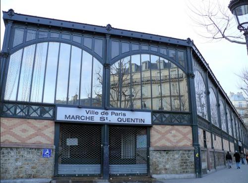paris,paris 10e,marché saint quentin,gastronomie