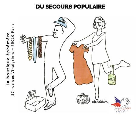 Paris, paris 10e, secours-populaire