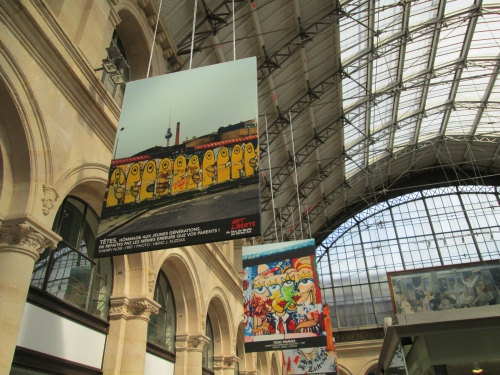 gare de l'est, street art, exposition , 10e
