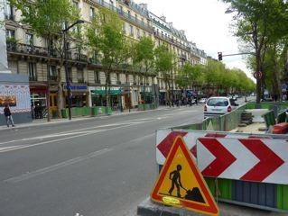 paris,10e,magenta,travaux,voirie,revetement,chaussée,fermeture-voie-bus