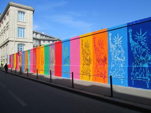 paris, rue d'alsace, street art