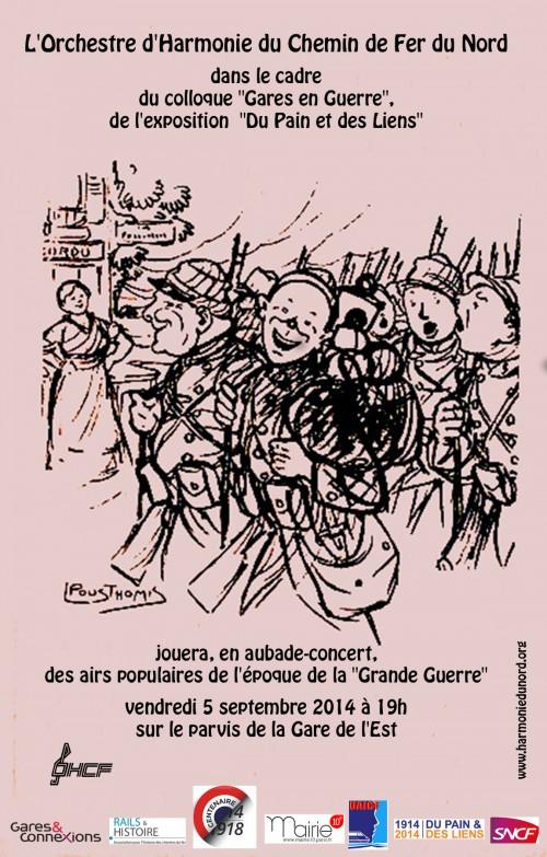 concert,harmonie-du-chemin-de-fer-du-nord,h&v-du-10e,rails-et-histoire,ahicf,centenaire-1914-1918,grande-guerre,guerre-14-18,gare-de-l-est
