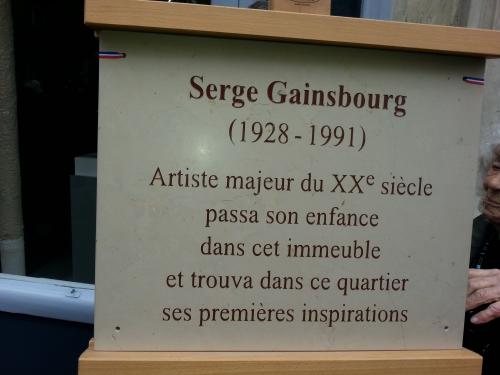 Paris,Gainsbourg,musique,histoire