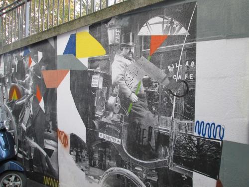 fresque, place de la Chapelle