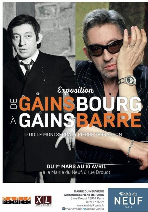 paris,paris-9e,gainsbourg,musique,histoire,exposition,de-gainsbourg-à-gainsbarre,mairie-du-9e