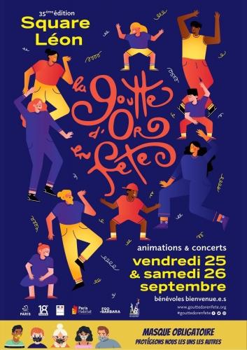 fête-de-la-goutte-d-or,18e,2020,square-léon
