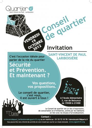 paris,10e,conseil-de-quartier,gilbert-grinstein,police,sécurité,rémi-feraud