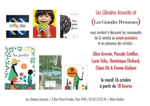 Paris, paris 18e, les libraires associés, jeunesse,