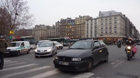 paris, 10e, gare de l'est, autobus, parvis, dvd,