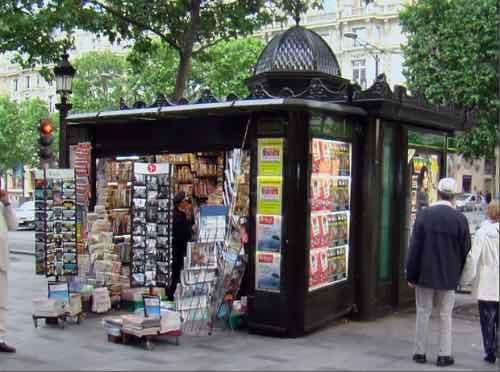 paris,kiosques,presse,démocratie