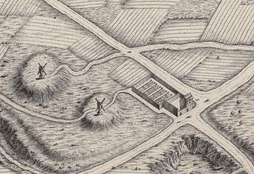 auberge de la goutte dor plan turgot 1739.jpg