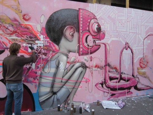 paris,maubeuge,street-art,palisades,fresques,turbo design,french-kiss