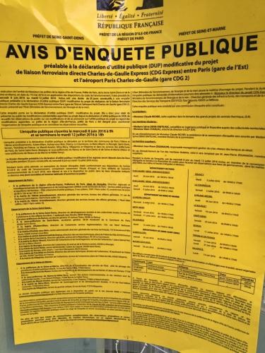 paris,paris 10e,paris 18e,cdg-express,enquête-publique