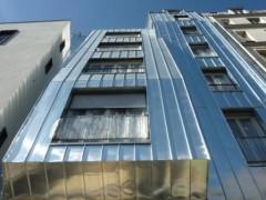 paris, urbanisme, immeuble, rue de chartres, goutte-d-or, rénovation-urbaine, façade-métallique