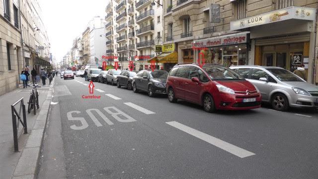 bloquer rue paris dechargement