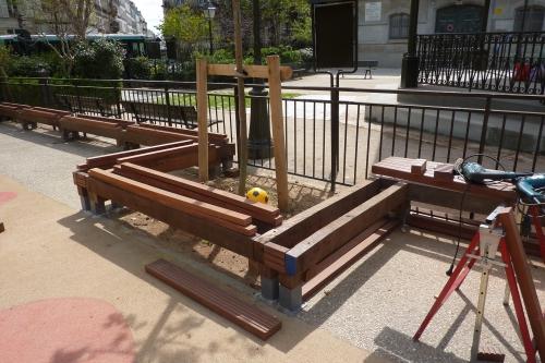 paris,square anvers,végétalisation,espaces verts