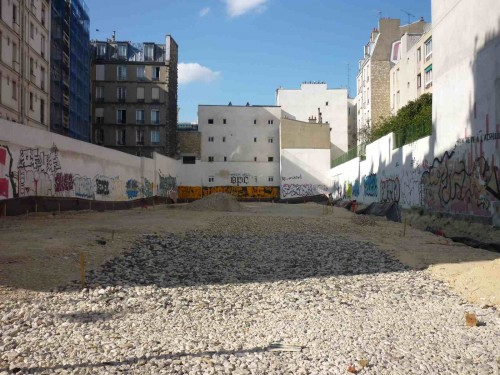 paris, 18e, square-jessaint, terrassement