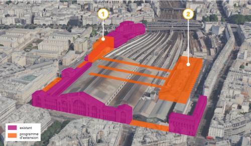 paris,paris 18e,sncf réseau,gare du nord,etoile du nord